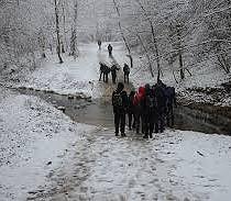 Cuha-völgyi túra télen